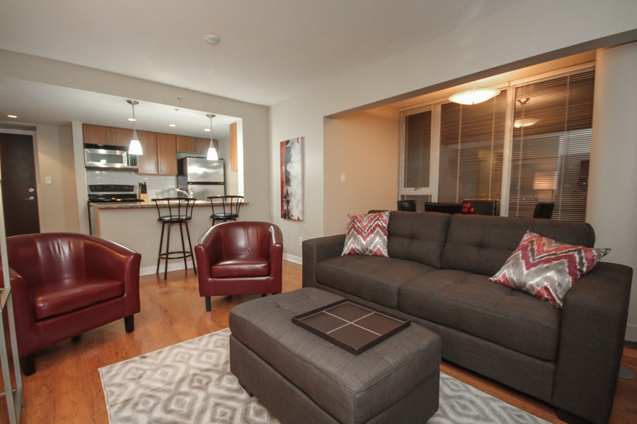 Firenze II Furnished Apartment Downtown Vancouver, B.C. - HighStreet Accommodations