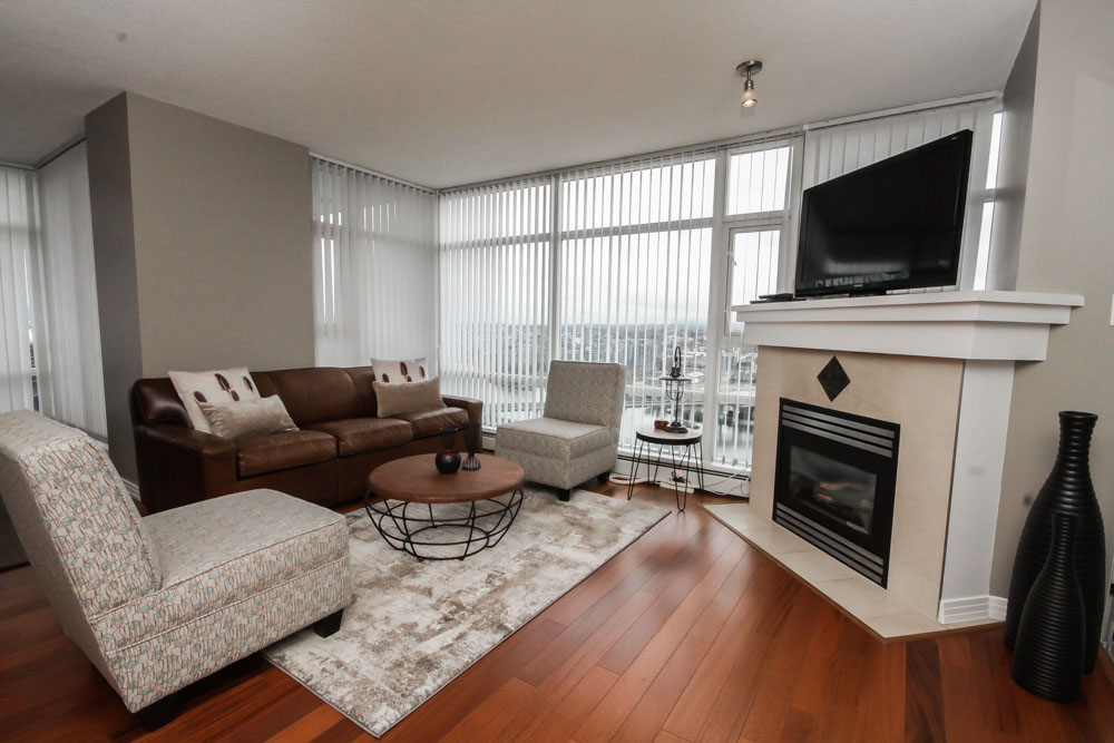 Overview of Living-Dining Area