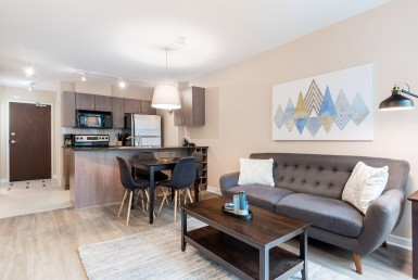 Short Term Rental in Vancouver, Canada - The Hudson One Bedroom Rental, Downtown Vancouver - HighStreet Accommodations